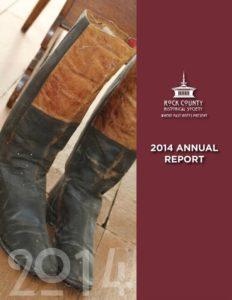 RCHS 2014 Annual Report cover