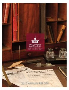 RCHS 2015 Annual Report cover