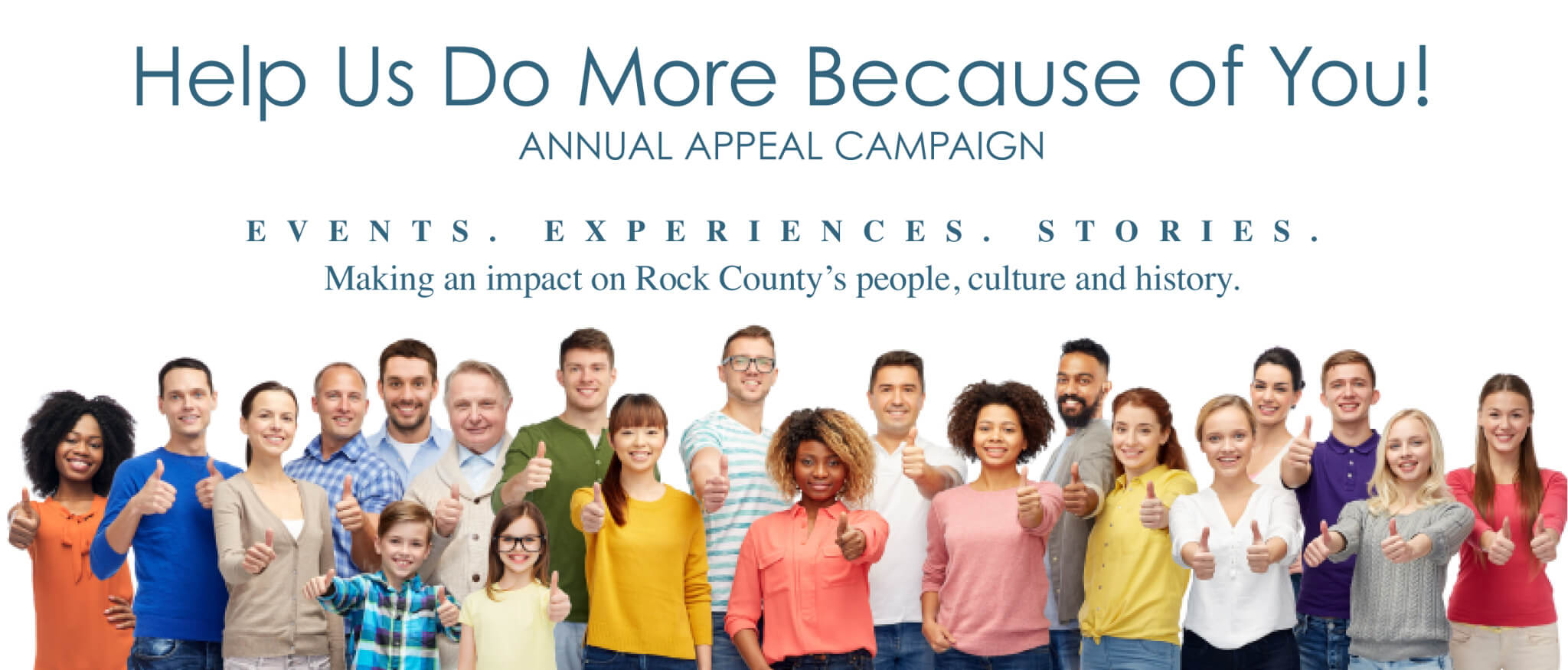Help Us Do More Because Of You - RCHS 2019 Appeal