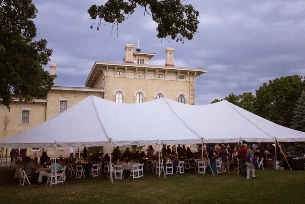 Wedding Venue #4: Tallman Porches & Lawn