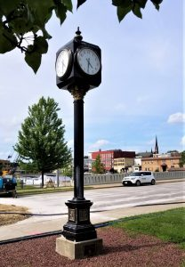 Downtown Clock Donated by Janesville Morning Rotary