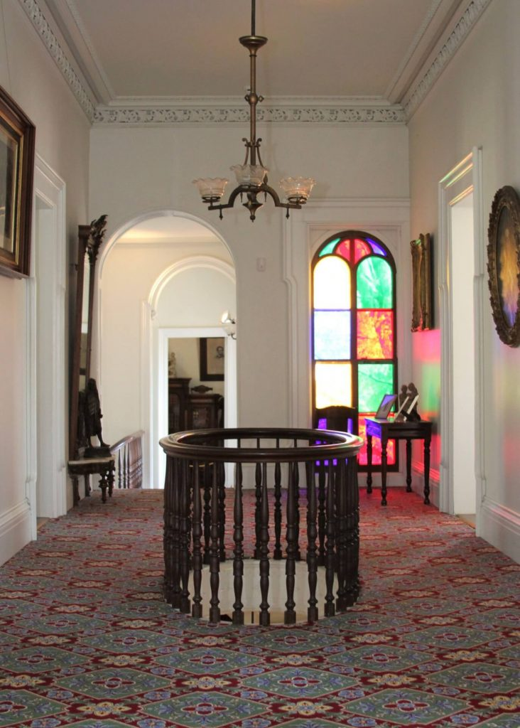 Elliptical in the Lincoln-Tallman House