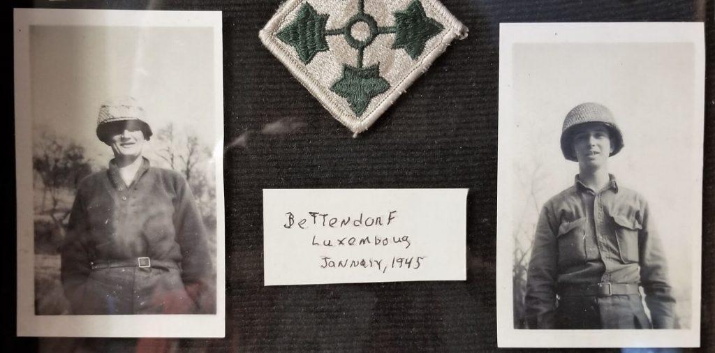 Sergeants Frank Douglas and Wendell Chapman
