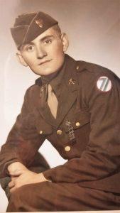 Frank Douglas, U.S. Army in WWII