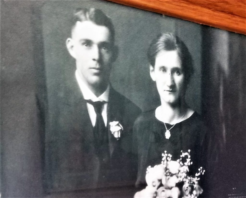 Harry's immigrant parents from Switzerland