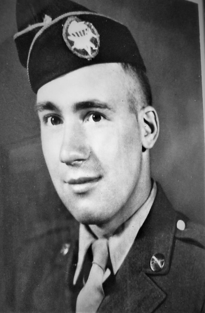 Harry in the U.S. Army