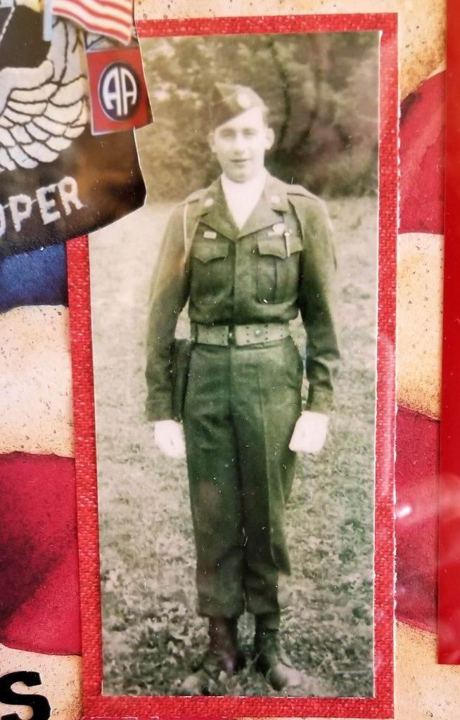 Harry in WWII Army uniform