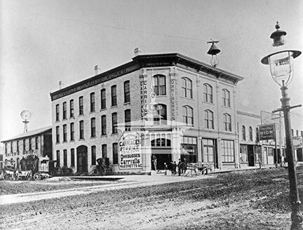 H. Buchholz and Co.'s Carriage Factory | Rock County Historical Society