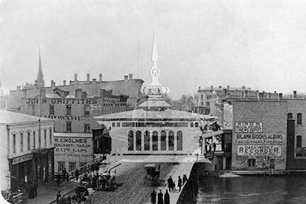 West Milwaukee Street, 1882