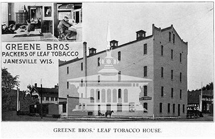 Greene Bros.' Leaf Tobacco House