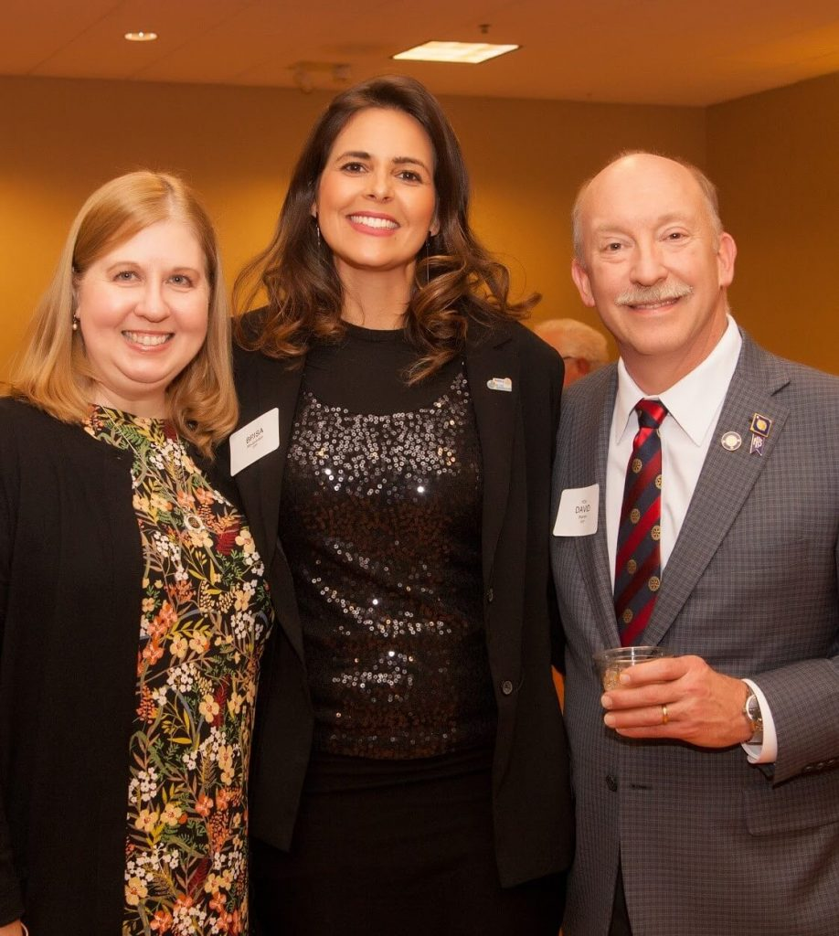 Former Exchange Student, Brisa, with Dave and Lori Warren
