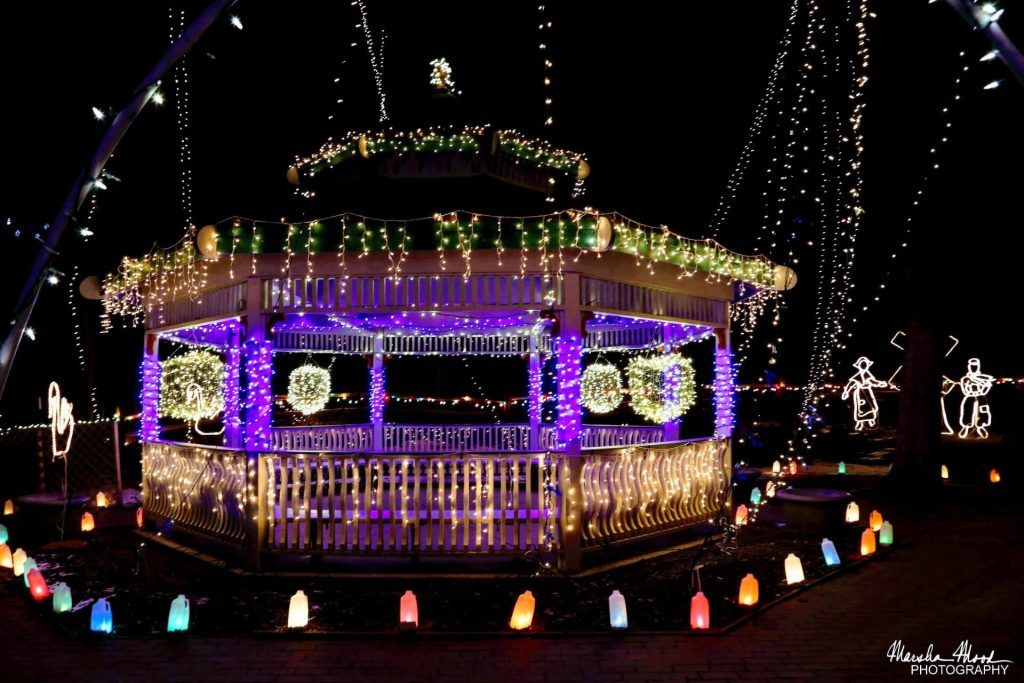 Holiday Light Show photo by Marsha Mood Photography