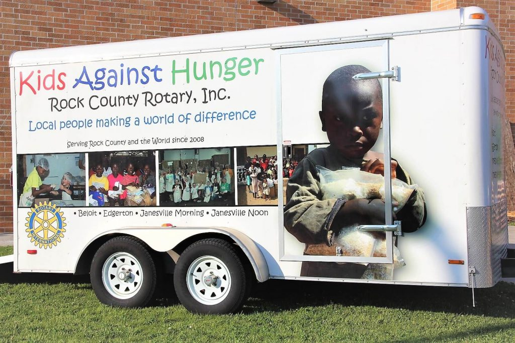 Kids Against Hunger Rotary Project
