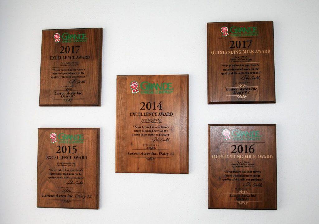 Larson Acres Awards