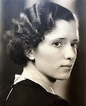 A young Lucille Sunby