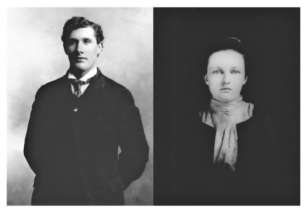 Milly's grandparents, Dan McGraw and Mary Gertrude Laverty