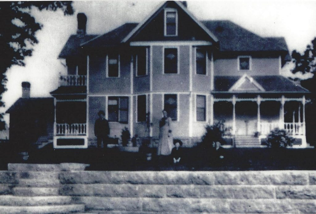 The family home, built in 1897, where Milly grew up