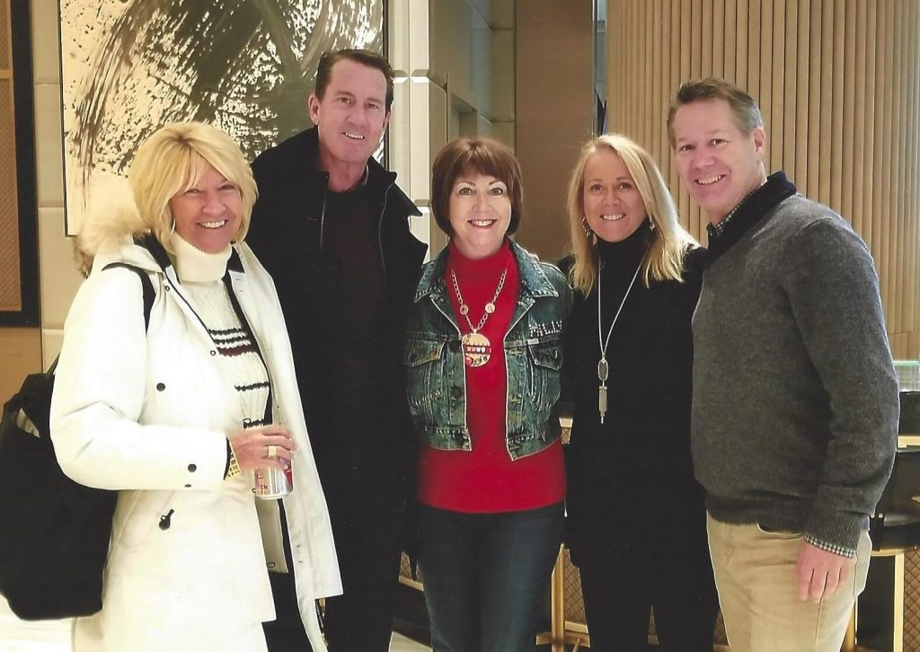 With friends Marcy and Tim Weber, Kim Hendricks and Deron Lichte in Nashville