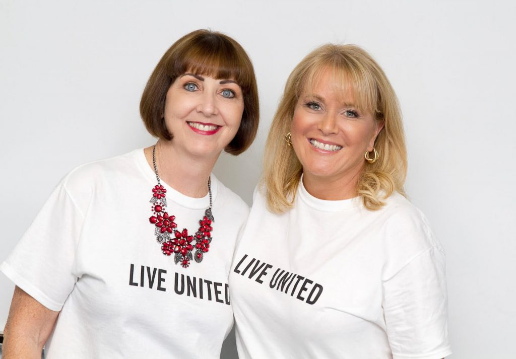 Milly Babcock and Kim Hendricks - 2015 United Way Campaign Champions