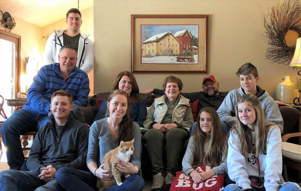 Paulette's family