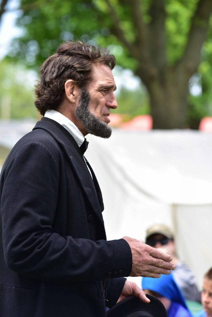 Randy Duncan as President Lincoln - Photo by Lee Ann Hare