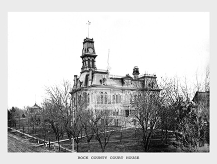 Rock County Courthouse, 1893