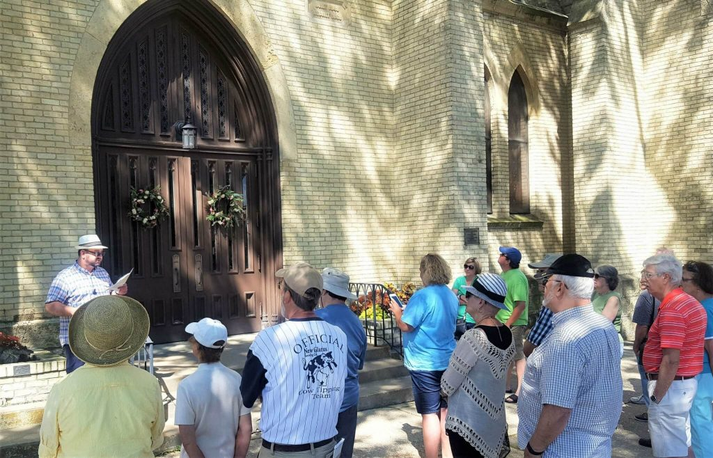 Rich Fletcher Janesville Historic Walking Tour