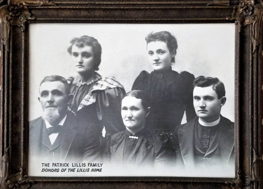 The Lillis Family of Janesville, Daughter Elizabeth - upper right