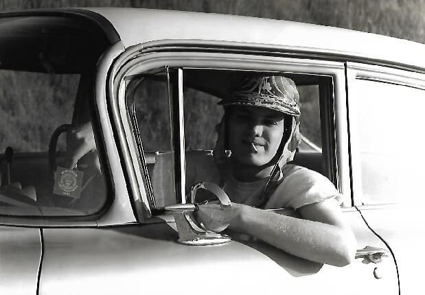 Stan Milam in Lotus Biscayne 1965