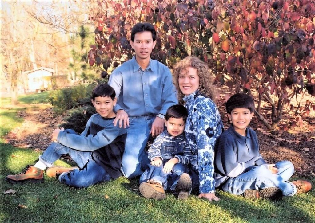The Nguyen Family in 2001