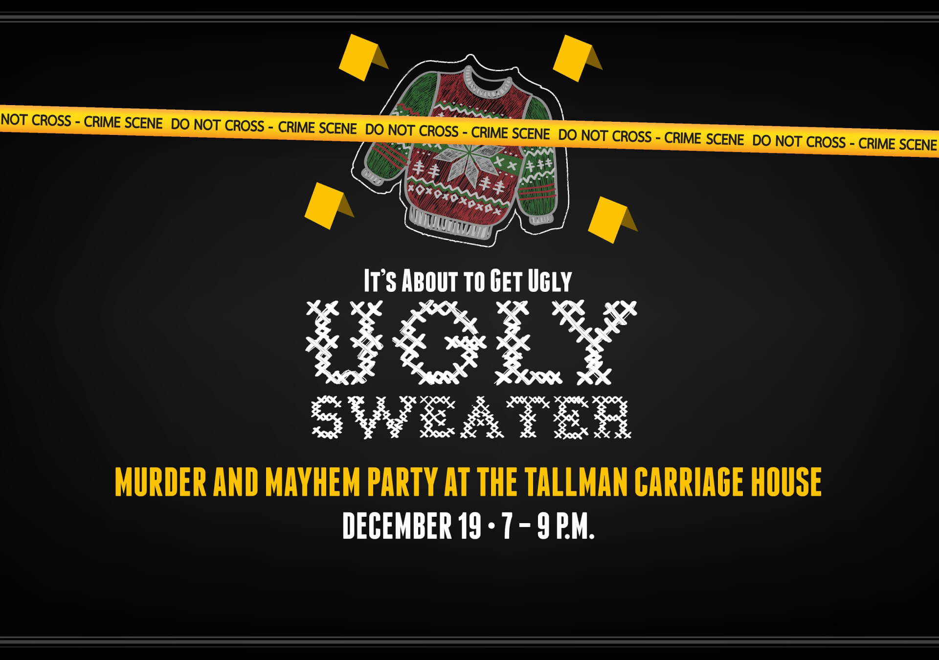 Ugly Sweater Party 2019 logo