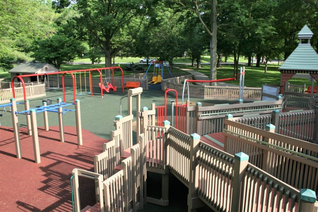 View of Camden Playground
