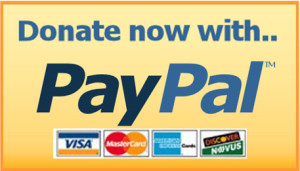 Secure donations via PayPal