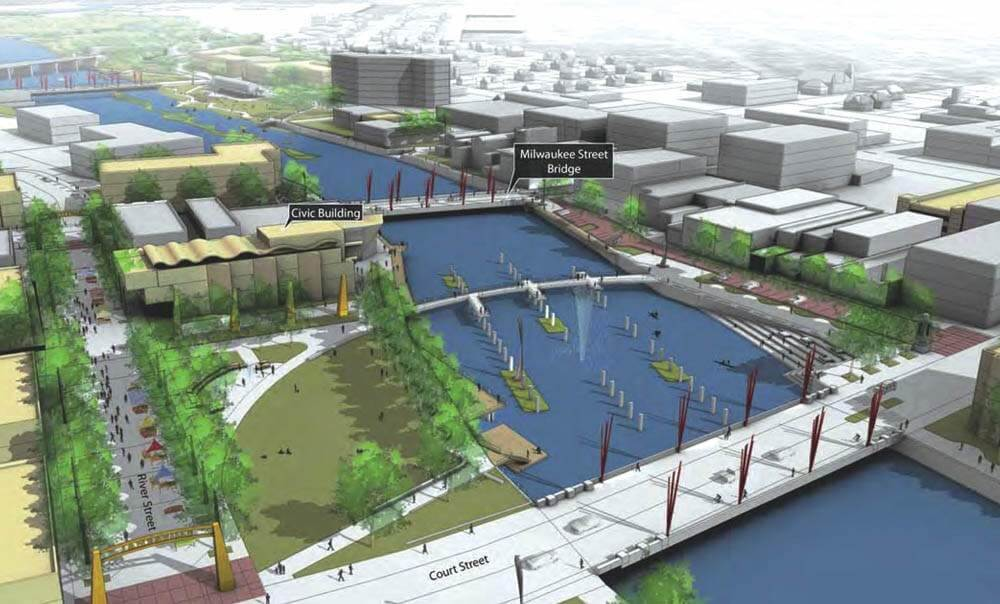 ARISE plan for downtown Janesville