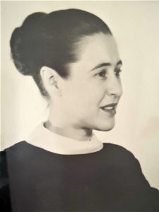 Elsie Van Tassell as a young woman