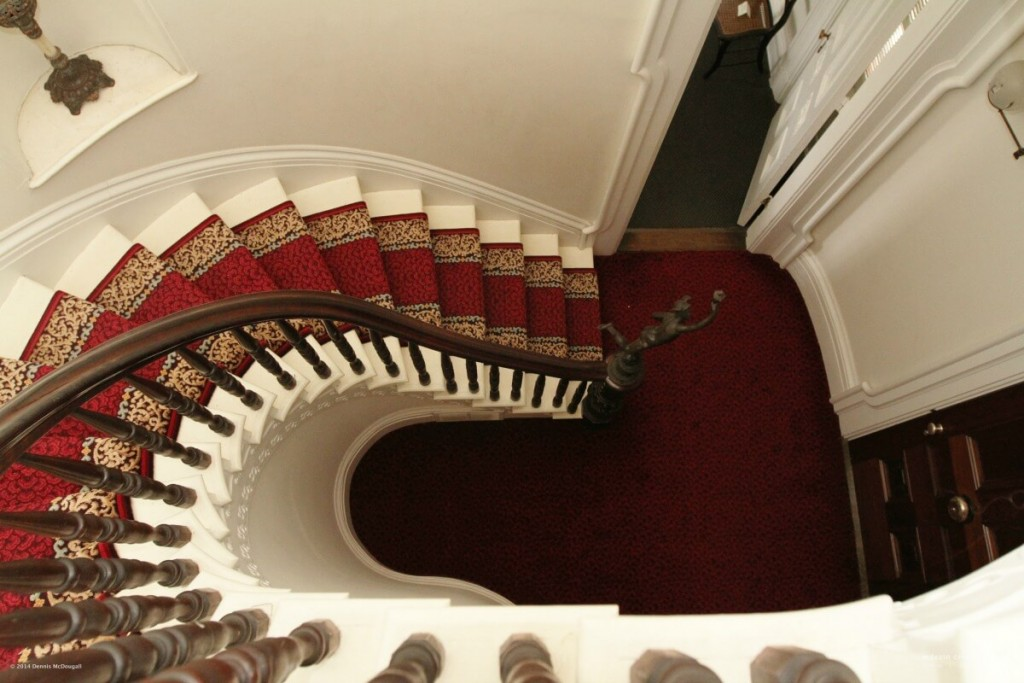 Tallman House Grand Staircase