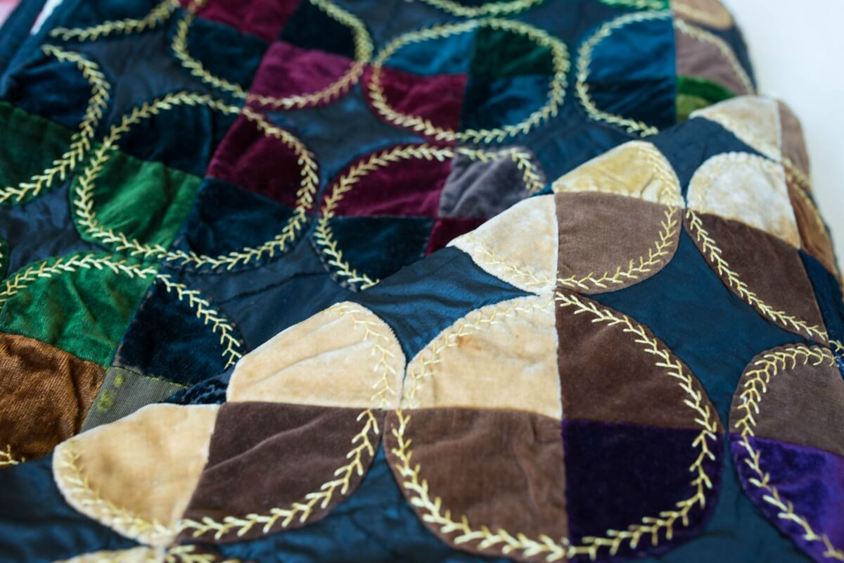 Patterned quilt