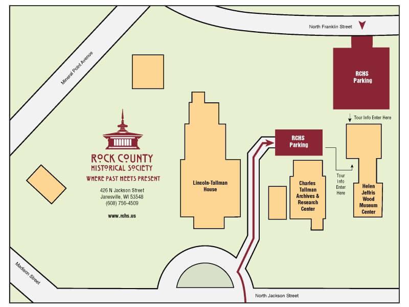 RCHS Parking Map